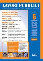 Lavori Pubblici n. 6 -  giugno 2010