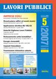 Lavori Pubblici n.5 Maggio 2007
