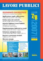 Lavori Pubblici n.7/8 Giugno 2007