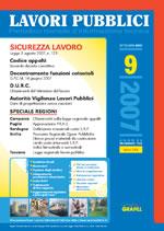 Lavori Pubblici n.9 Settembre 2007