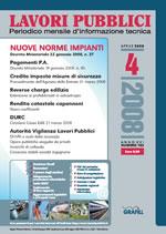 Lavori Pubblici n.4 Aprile 2008