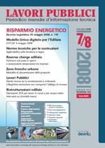 Lavori Pubblici n.7/8 Luglio/Agosto 2008