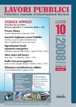 Lavori Pubblici n.10 ottobre 2008