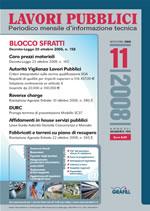 Lavori Pubblici n.11 novembre 2008
