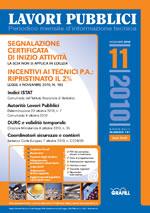 Lavori Pubblici n. 11 -  novembre 2010