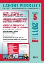 Lavori Pubblici n. 5 - Maggio 2011