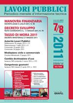 Lavori Pubblici n. 7/8 - Luglio/Agosto 2011