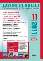 Lavori Pubblici n. 11 - Novembre 2011