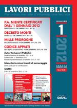 Lavori Pubblici n. 1 - Gennaio 2012