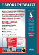 Lavori Pubblici n. 4 - Aprile 2012