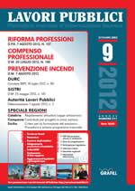 Lavori Pubblici n. 9 - Settembre 2012