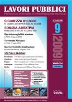 Lavori Pubblici n. 9 settembre 2009