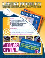 Abbonamento Lavori Pubblici anno 2010 + Buono di € 50,00 per acquisti telefonici di libri GRAFILL allo 091-6823069