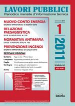 Abbonamento 2011 Lavori Pubblici