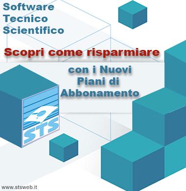 Nuovi piani abbonamento software STS