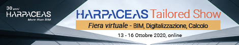 Harpaceas Tailored Show – Fiera virtuale su BIM