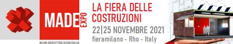 MADE expo 22 - 25 novembre 2021