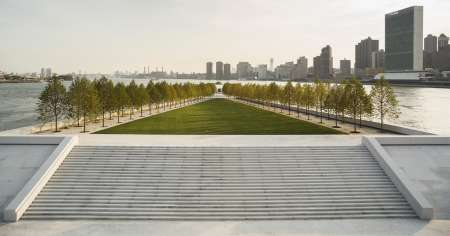 Dal Four Freedoms Park di New York alla Villa Deliella di Palermo