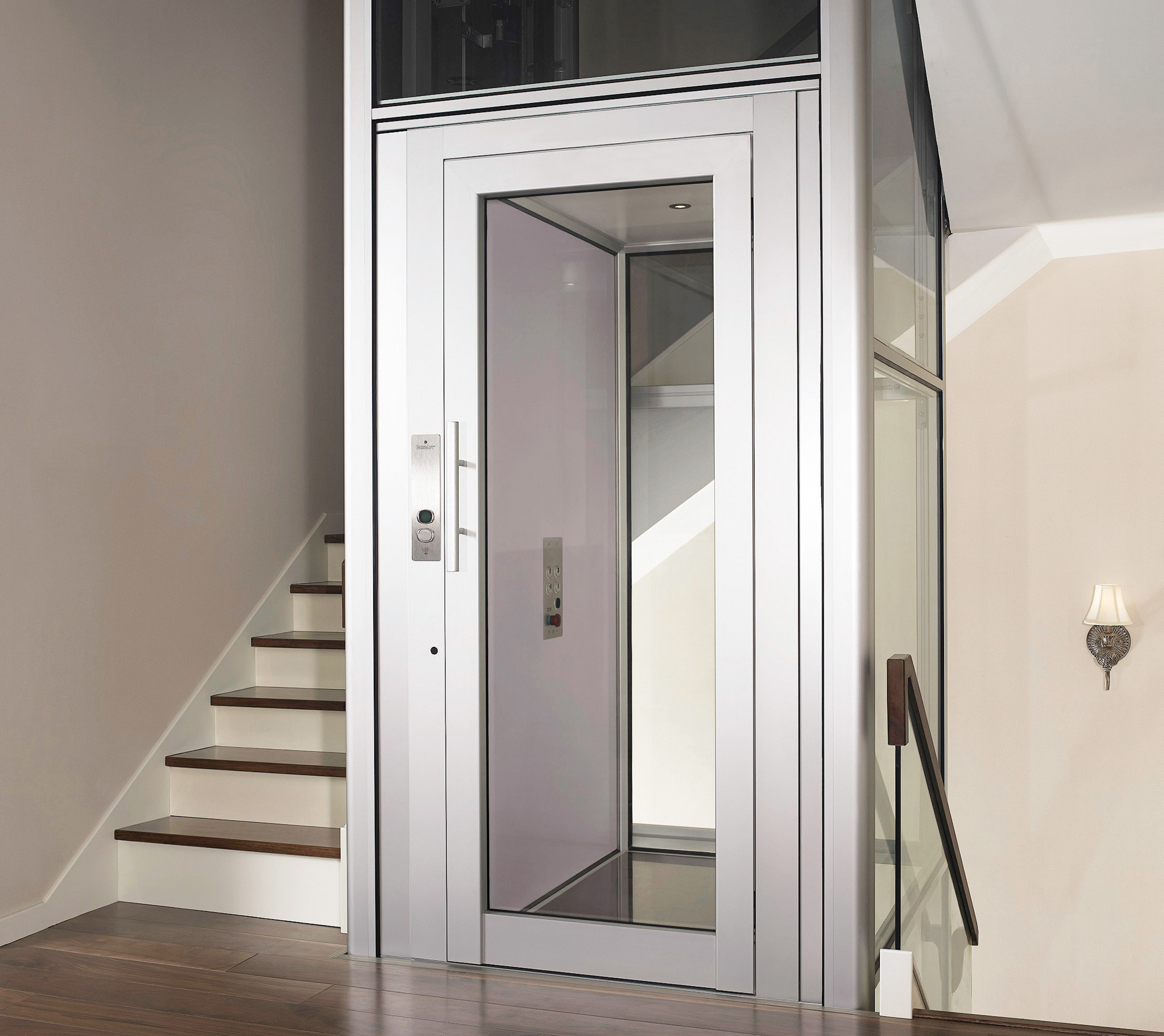 Mini ascensore domuslift igv group - Ascensore in casa ...