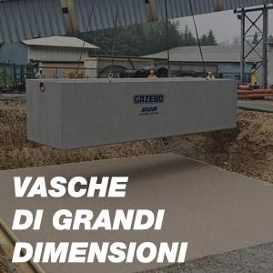 Vasche di Grandi Dimensioni