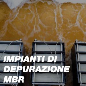 Impianti di depurazione MBR