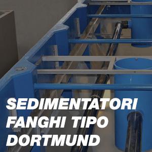Sedimentatori Fanghi tipo Dortmund