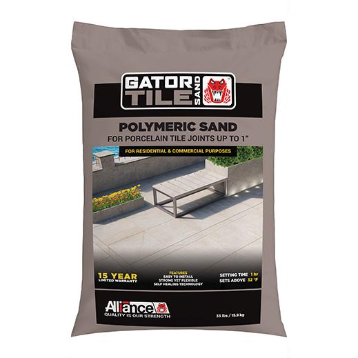 Fugante in Sabbia Polimera: Gator Tile Sand