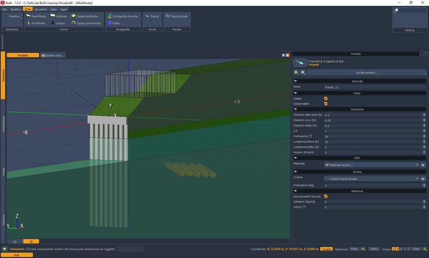 Bulk è un software per la modellazione