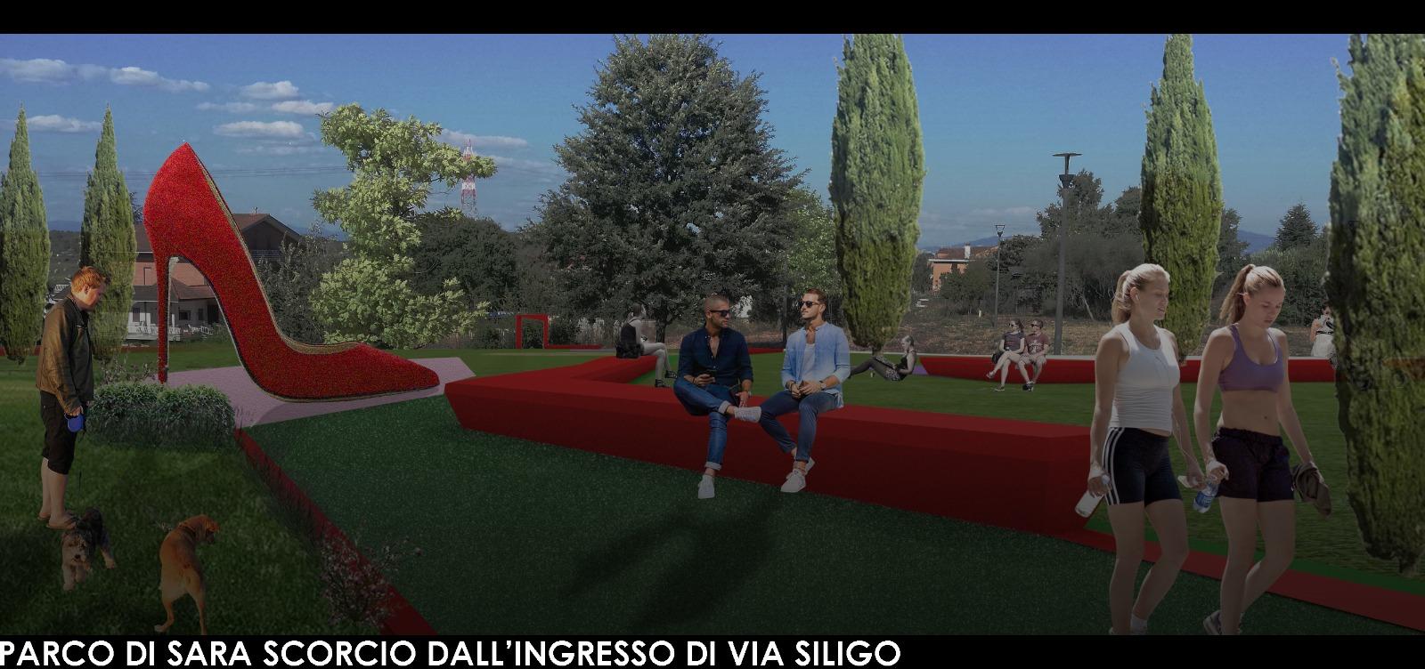 PARCO DI SARA- SPALLETTE - SCORCIO VIA SILIGO