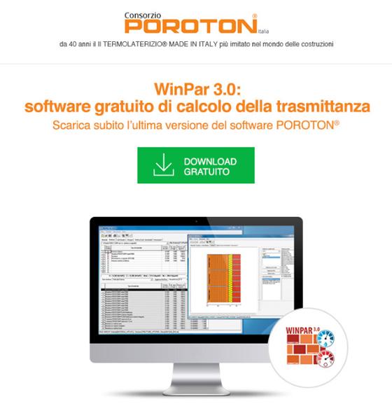 Calcolo della trasmittanza: Scarica WinPar 3.0 (software gratuito)