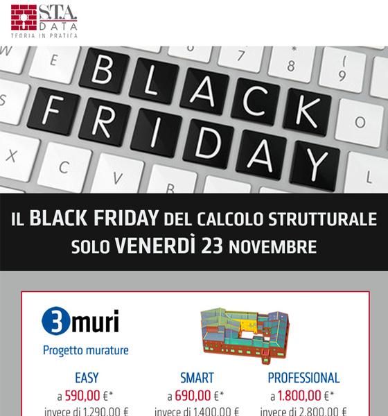 Il Black Friday del calcolo strutturale: scopri tutte le offerte
