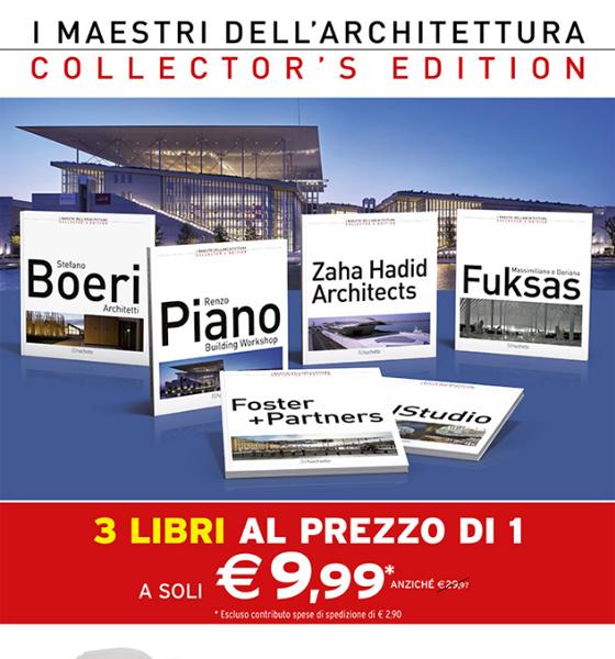 I Maestri dell'Architettura: monografie da collezione. Scopri l'offerta