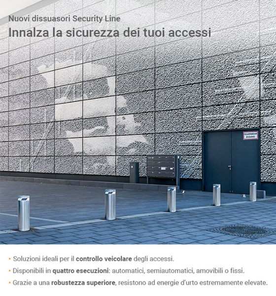 Nuovi dissuasori Security Line Hormann