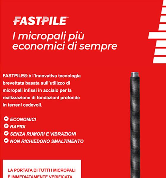 FastPile, i micropali più economici di sempre