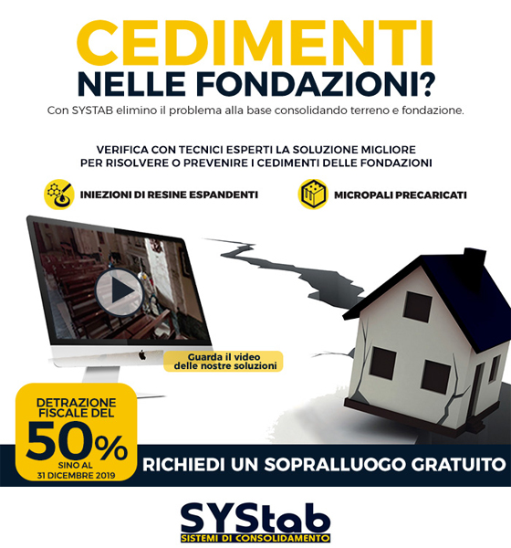 Consolidamento fondazioni: scopri le innovazioni SYStab