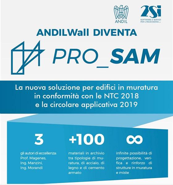 NTC2018 e circolare 2019: PRO_SAM è la nuova soluzione per edifici in muratura!