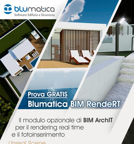 Rendering Real Time: Prova GRATIS Blumatica