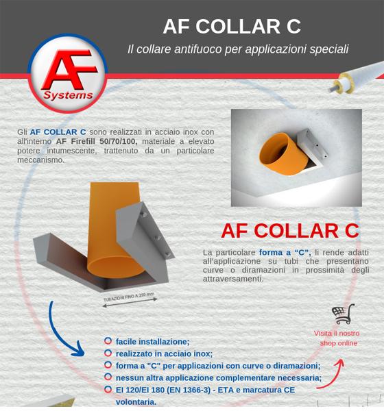 AF COLLAR: il collare antifuoco per applicazioni speciali