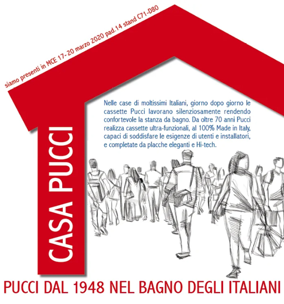 Pucci: Cassette per WC ad alto contenuto tecnologico