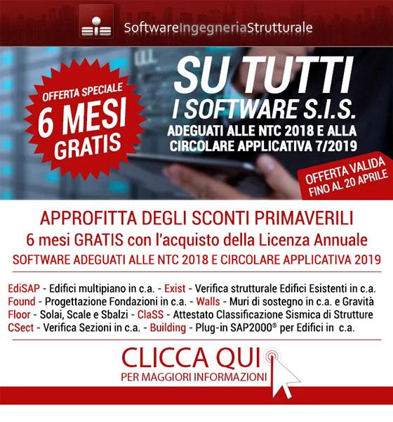 Software Strutturale: 6 Mesi GRATIS