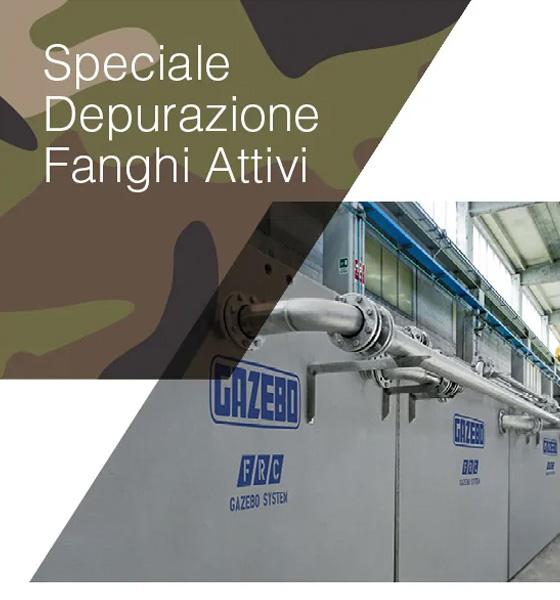 Nuovo Impianto a Fanghi Attivi per l'Esercito Italiano