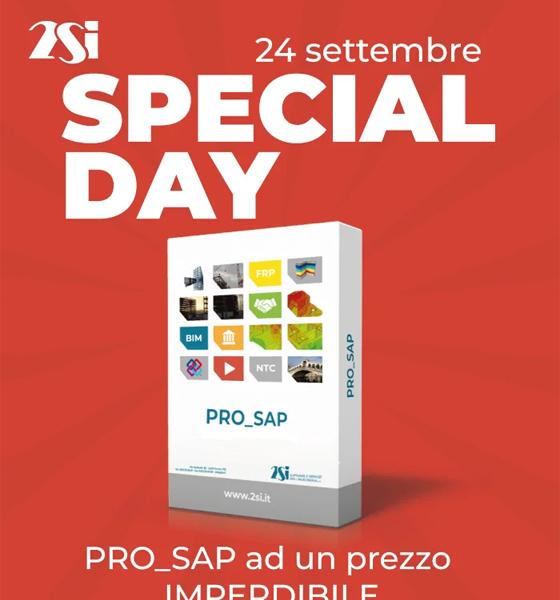 PRO_SAP ad un prezzo irripetibile: Special Day 24/9