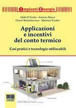 Applicazioni e incentivi del conto termico