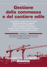Gestione della commessa e del cantiere edile