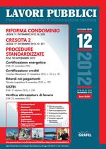 Lavori Pubblici n. 12 - Dicembre 2012