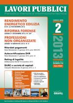 Lavori Pubblici n. 2 - Febbrario 2013