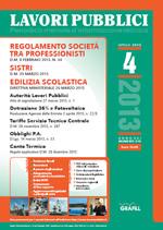 Lavori Pubblici n. 4 - Aprile 2013