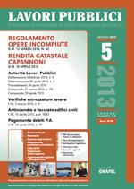 Lavori Pubblici n. 5 - Maggio 2013