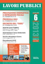 Lavori Pubblici n. 6 - Giugno 2013