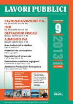 Lavori Pubblici n. 9 - Settembre 2013